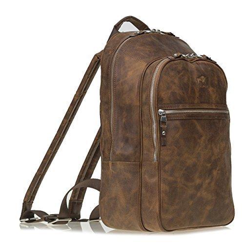Backpack in Vintage Braun
