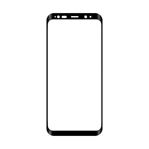 Samsung S8 Panzerglas in Schwarz