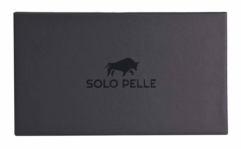 """Solo Pelle Lederhülle Miami geeignet für Apple iPad Pro 11"""" 2018 Hülle Leder Case in Cognac Braun aus echtem Leder. Unterstützt Pencil 2 und magnetisches Laden"""
