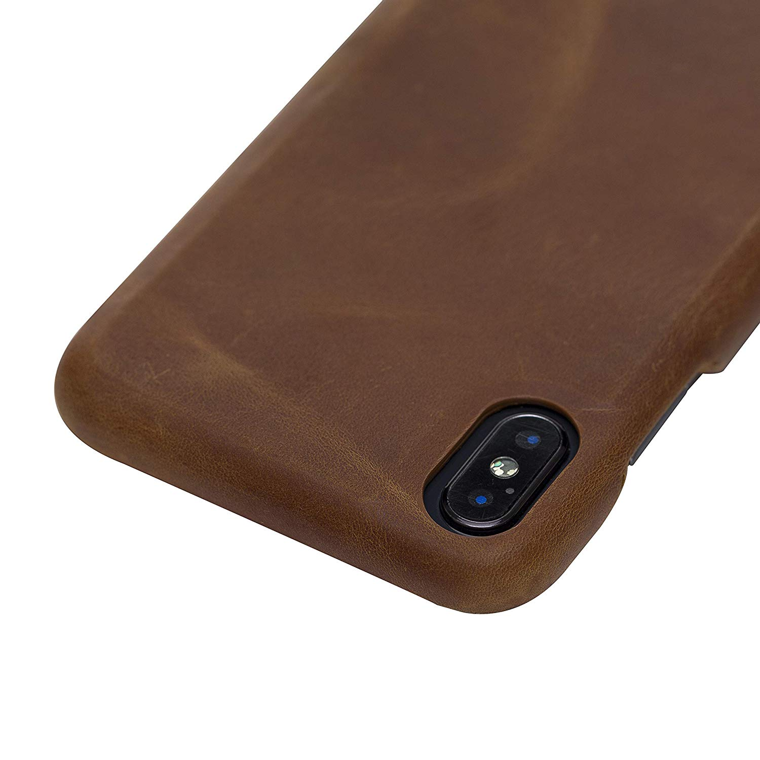"iPhone XS Max - ""Princeton"" - in Camel Braun"