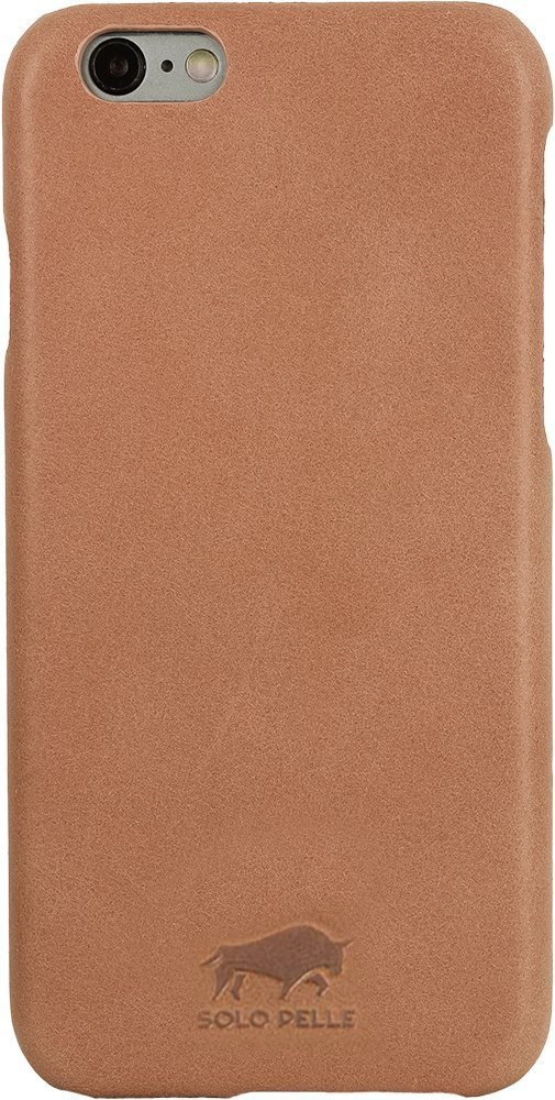 "iPhone 6/6S Hülle - ""Ultra Slim"" - Light Rose aus Leder"