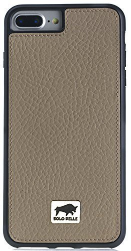 "iPhone 7 Plus / 8 Plus ""STANFORD"" Hülle in Floater Taupe"
