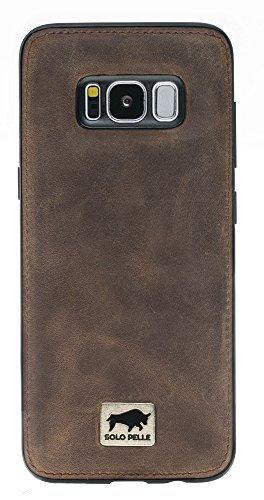 """Samsung Galaxy S8 """"Flex"""" Hülle in Vintage Braun inkl. edler Geschenkverpackung"""