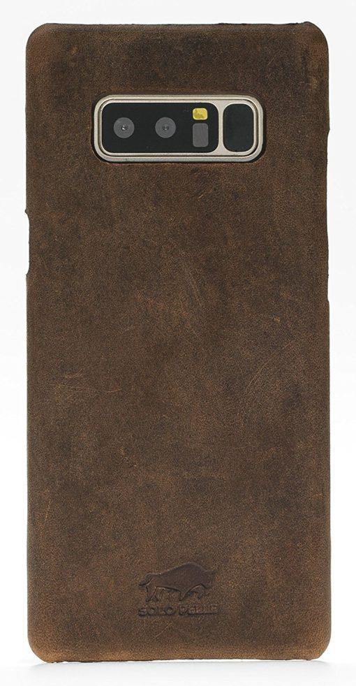 Samsung Galaxy Note 8 Lederhülle in Vintage Braun