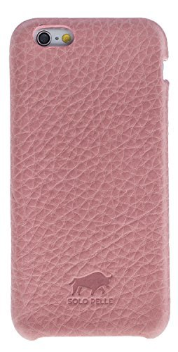 "iPhone 6 Plus / 6S Plus Hülle - ""Fullcover"" - Floater Rosa aus Leder"