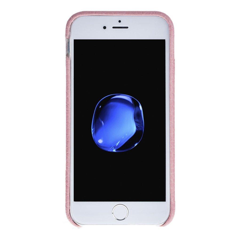 "iPhone SE / 5 / 5S Hülle - ""Pomona"" - Flotter Rosa aus Leder"