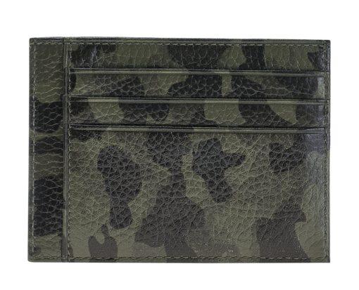 "Kartenetui ""Bill"" (Camouflage Grün)"
