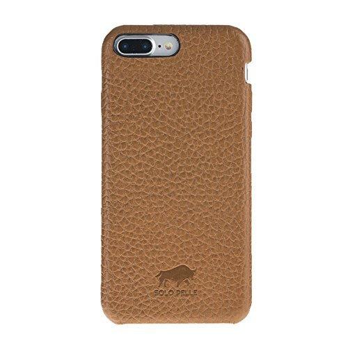 """iPhone 8 Plus / 7 Plus Hülle - """"Fullcover"""" - Braun aus Leder"""