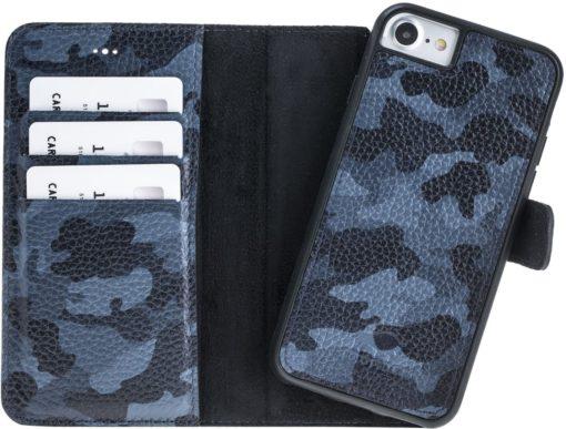 iPhone 7/8 abnehmbare Lederhülle (Ultra 2in1) Hülle inkl. Kartenfächer