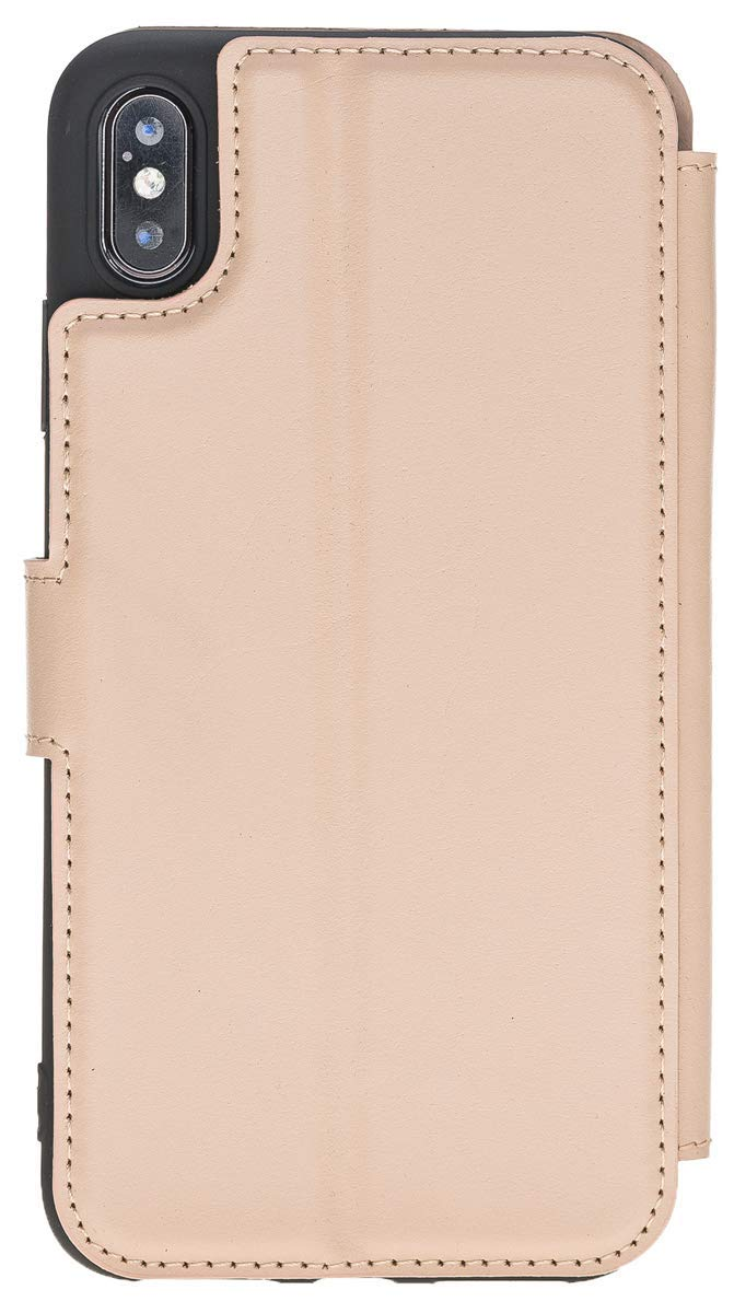 iPhone XS Max Walletcase in Nude